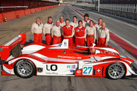 Horag Porsche RS Spyder completes first laps