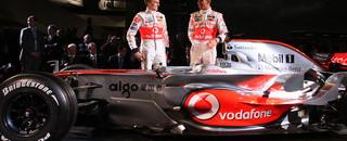 Formula 1 McLaren MP4-23 takes the spotlight in Germany