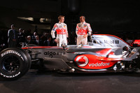 McLaren MP4-23 takes the spotlight in Germany