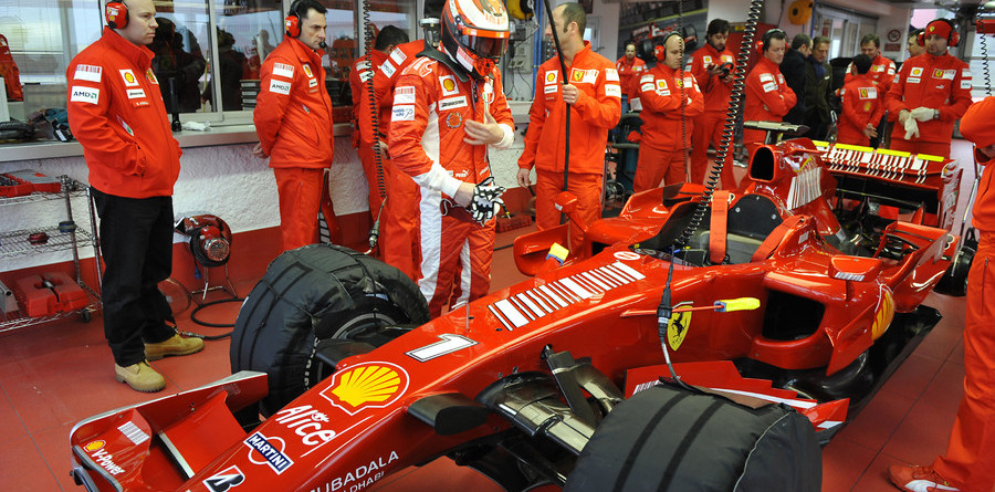 Raikkonen, Massa confident in the F2008