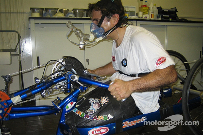 Alex Zanardi news 2008-01-16
