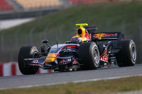 Webber closes Barcelona weekend with speed