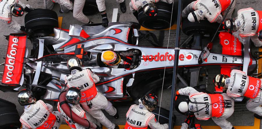 McLaren relegated down Bahrain pit lane