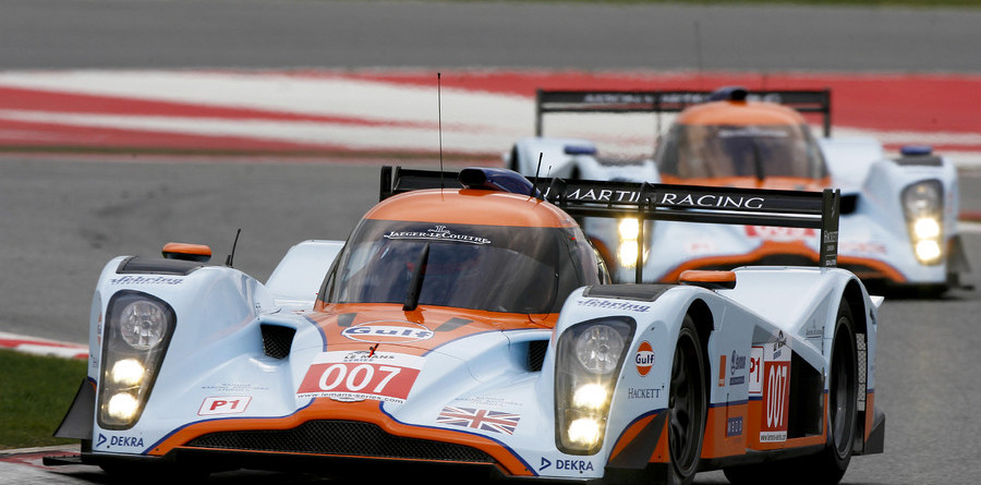 Aston Martin team takes first win at Barcelona