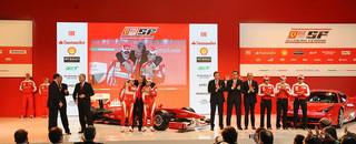 Ferrari shows Formula One world the F10 in Marenello