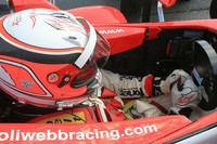 Webb wins Brands Hatch first race of weekend