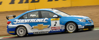 BTCC Advantage Plato after Brands Hatch qualifying