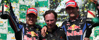 Formula 1 Red Bull dances in Brazil, title fight goes to UAE