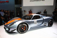 Ingram's Flat Spot On: Porsche's new race car