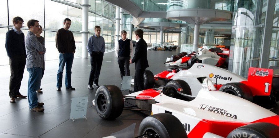 Full Throttle: McLaren: A special media event