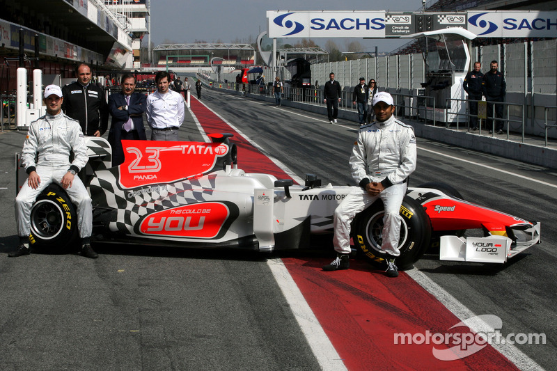 Hispania Racing Team launch notes