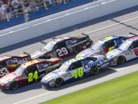 Johnson gets close win at Talladega