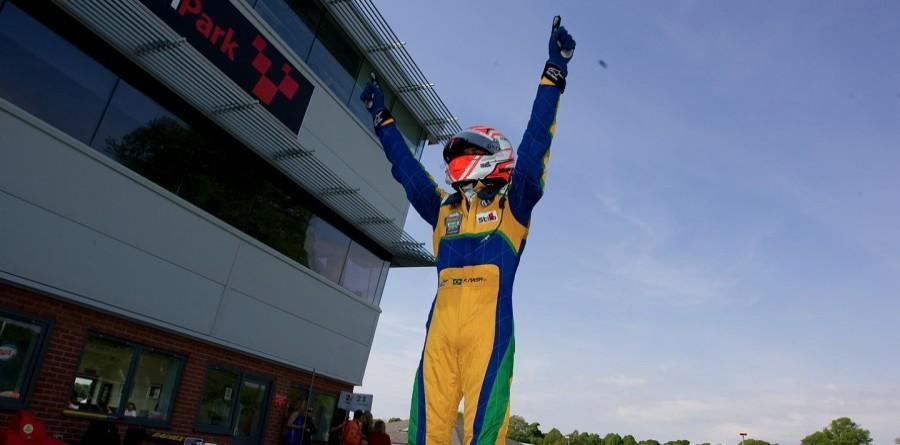 Points leader Nasr wins feature race at Oulton Park