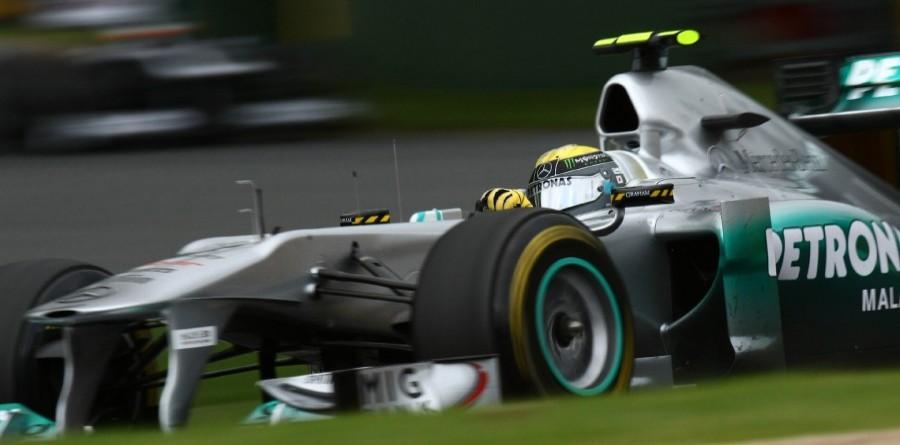 Rosberg eats cheeseburger and plots Mercedes victory