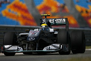 Rosberg unsure about Turn 8 impact for tyres