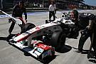 Turkish GP Sauber Qualifying Report