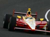 Castroneves Paced Indy 500's Fast Friday