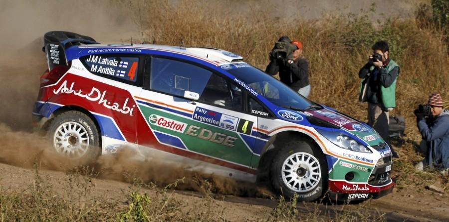Latvala Blazes Into Early Rally Argentina Lead