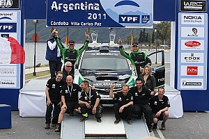 Harden Paddon Rally Argentina Event Summary