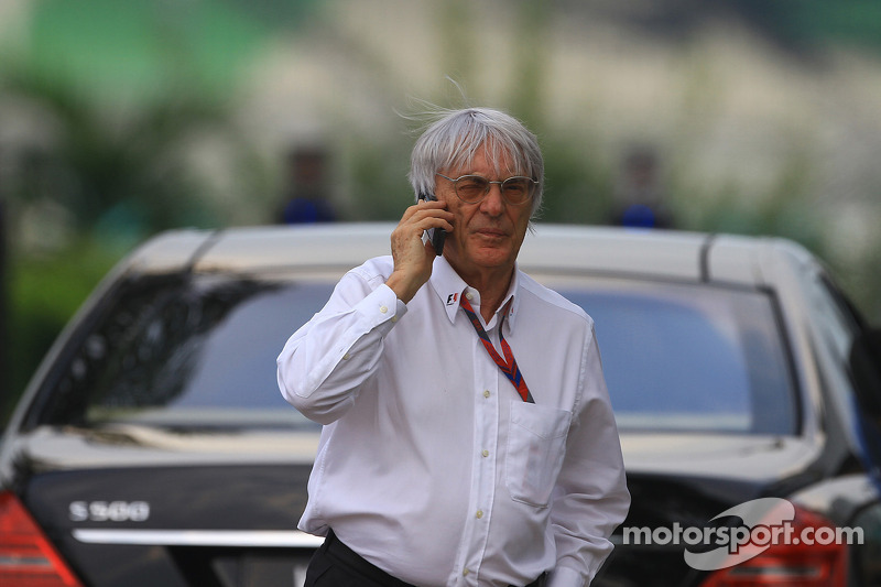 Bahrain in 2011 'of course not on' - Ecclestone