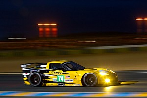 Le Mans Corvette Racing Le Mans Hour 12 Report
