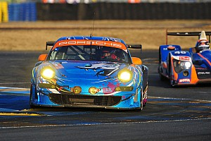 Le Mans Flying Lizard Le Mans Hour 18 Report