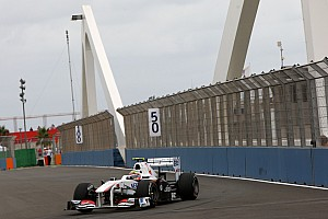 Sauber European GP - Valencia Qualifying Report