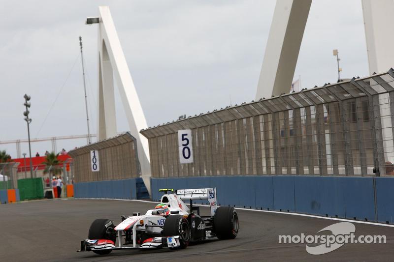 Sauber European GP - Valencia Qualifying Report