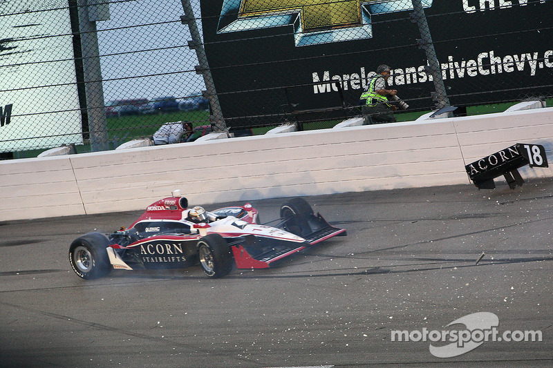 Dale Coyne Racing Iowa Race Report