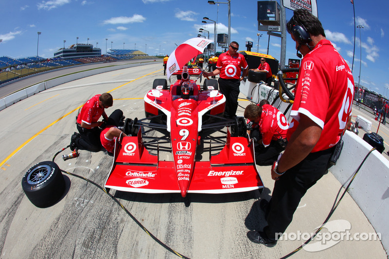 Chip Ganassi Racing Iowa Race Report