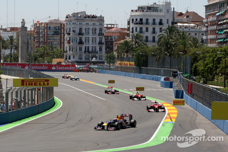 Valencia Wants Earlier F1 Calendar Slot