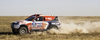 Cross-Country Rally Holowczyc Stays On Top In Silk Way Dakar Rally Stage 3