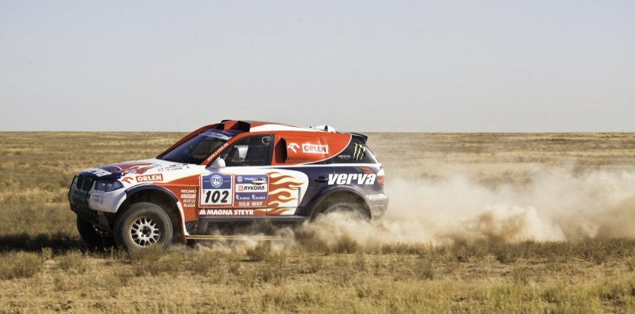 Holowczyc Stays On Top In Silk Way Dakar Rally Stage 3