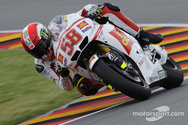 MotoGP Series German GP Practice 2 Report