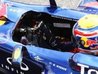 Webber On Top Of 2nd Practice Session For German GP