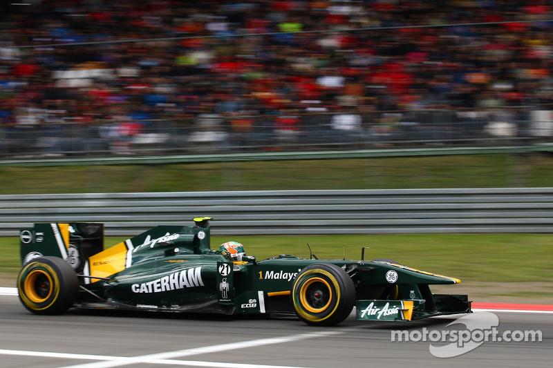 Team Lotus British GP - Silverstone Race Report