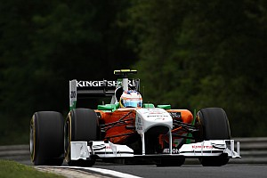 Force India Hungarian GP Friday Practice Report