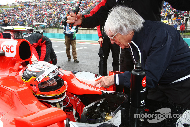 Marussia Virgin Hungarian GP Race Report