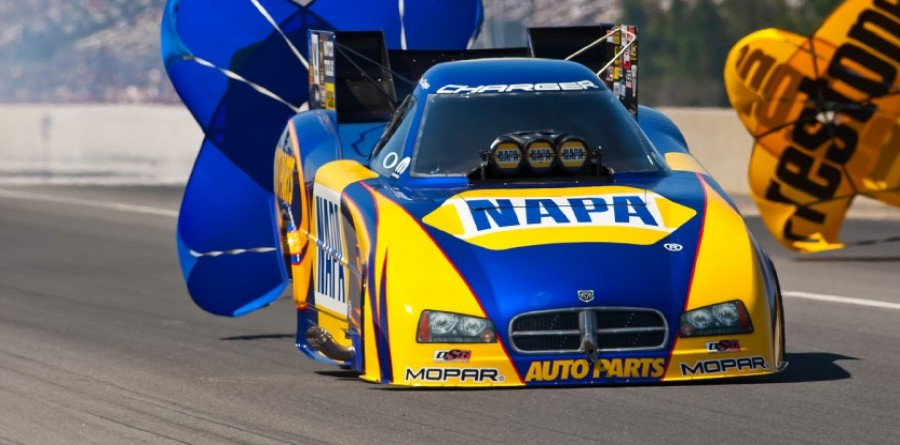 Ron Capps NHRA Sonoma Infineon Raceway Final Report
