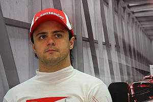 Massa on track at Interlagos