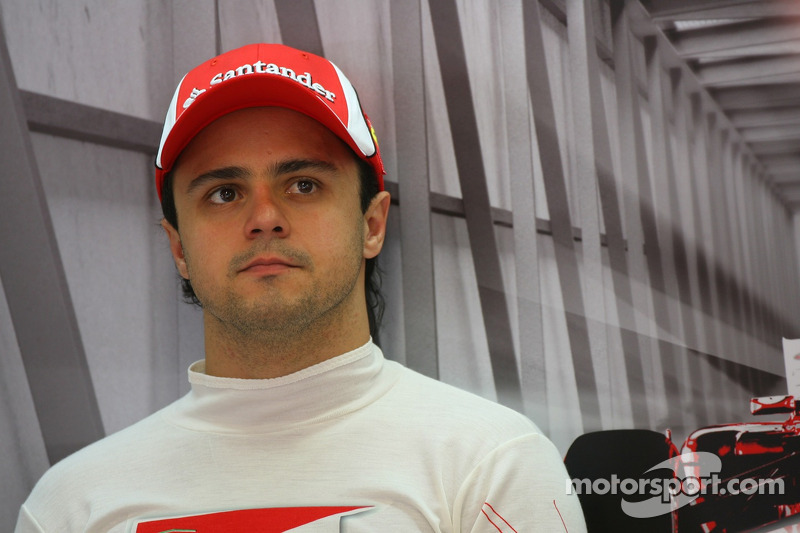Massa on track at Interlagos