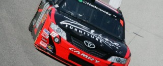 Joe Gibbs Racing takes Bristol front row
