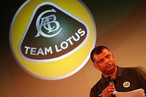 Team Lotus name and logo stays same for now