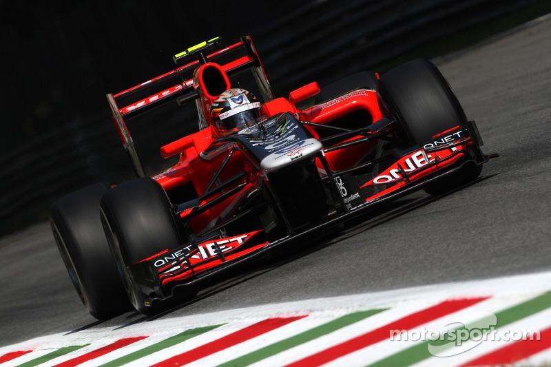 Marussia Virgin Italian GP - Monza race report