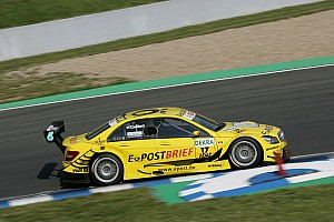 DTM Bruno Spengler on front row, just one thousandth of a second off pole