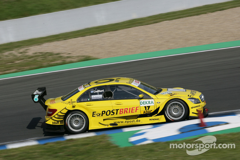 Bruno Spengler on front row, just one thousandth of a second off pole