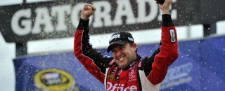 NASCAR Sprint Cup Stewart savors Chicagoland Sprint Cup victory