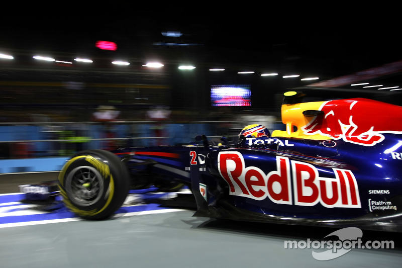 Red Bull Singapore GP Friday practice report