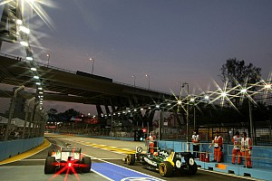 Formula 1 Force India Singapore GP qualifying report