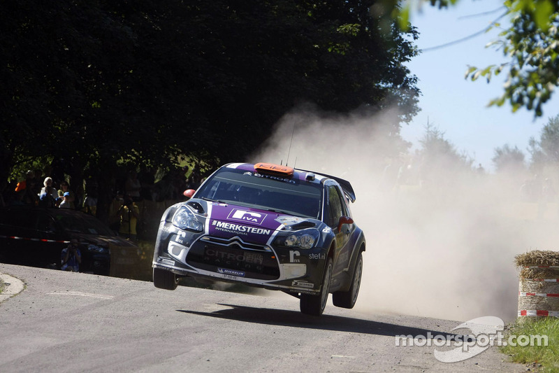 Van Merksteijn Motorsport retires from Rallye de France